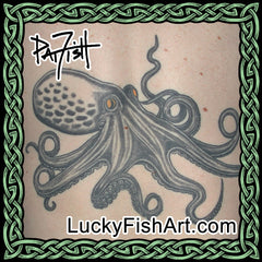 Octopus Tattoo Designs