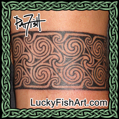 Pictish Band Tattoos