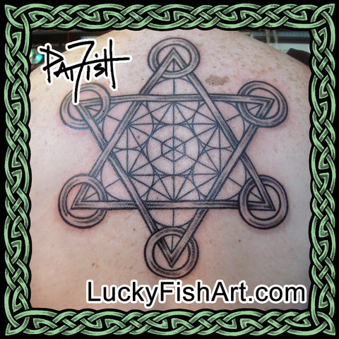 Sacred Geometry Tattoo Designs