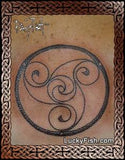 Loughan Island Disc Celtic Tattoo Design