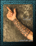 Archer's Bracer Celtic Forearm Tattoo Design