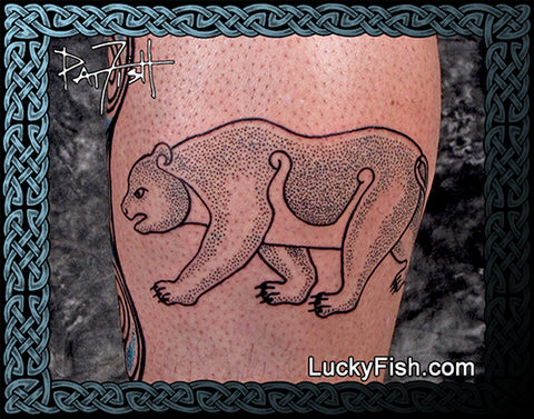 Pictish Bear Tattoo Design