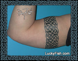 Triple Loop Band Celtic Knotwork Tattoo Design