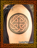 Father Knot Celtic Family Tattoo Design