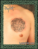 Father Knot Dedication Celtic Tattoo Design