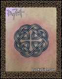 Father Knot Celtic Love Tattoo Design