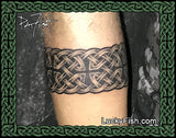 Kings' Braid Celtic Armband Tattoo Design