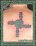 St Brigid's Cross Celtic Tattoo Design