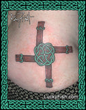 St Brigit's Cross Celtic Tattoo Design
