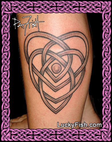 Motherhood Knot Celtic Tattoo Design