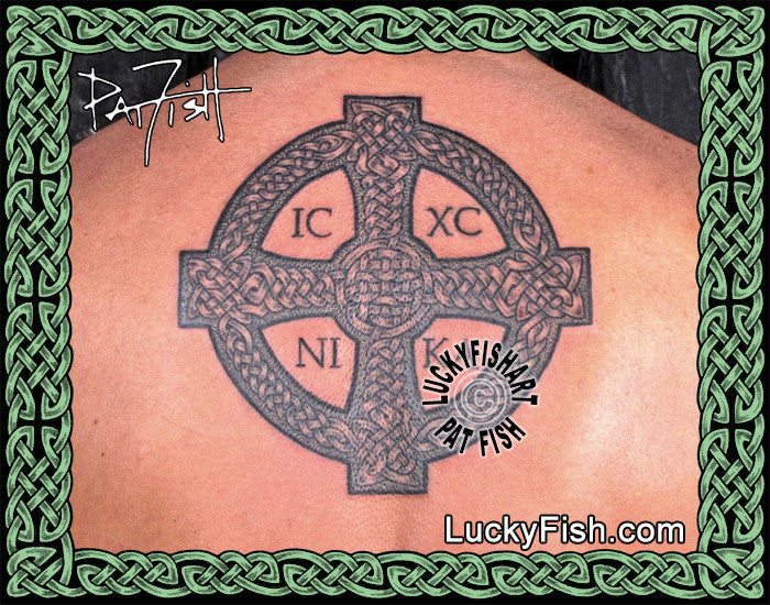 Cross of St. John Celtic Tattoo Design