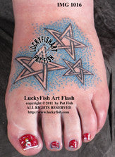 Twinkle Celtic Star Tattoo Design 1