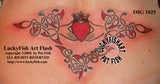 Claddagh Lace Celtic Tattoo Design 2