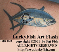 Cool Tuna Tattoo Design 1
