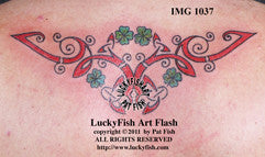 Lucky Family Celtic Tattoo Design 1