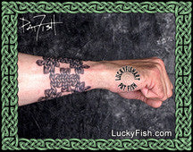 Band of Gypsies Celtic Tattoo Design 4