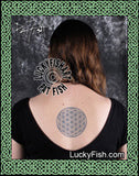 Sacred Geometry Flower of Life Tattoo Design
