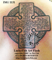 Redemption Cross Celtic Tattoo Design 1