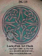Friendship Wheel Celtic Tattoo Design 1