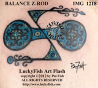 Balance Z-Rod Pictish Tattoo Design 1