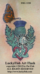Scots Love Celtic Tattoo Design