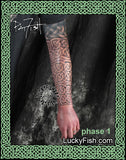 Long Body Armor Celtic Tattoo Design