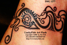 Hablingbo SeaMonsters Viking Tattoo Design 1