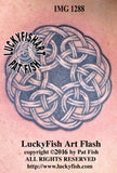 Life Source Circular Celtic Tattoo Design