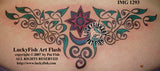 Star Lite Celtic Tattoo Design