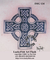 St John the Baptist Cross Celtic Tattoo Design 1