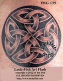 Duleek Knot Celtic Tattoo Design 4