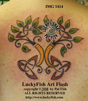 Spring Forward Celtic Tattoo Design 1
