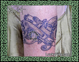 Canine Infinity Celtic Tattoo Design 8