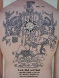 Pacal Votan Mayan Tattoo Design 1
