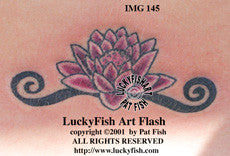 Flower Tattoo Designs Tagged Water Lily Luckyfish Art