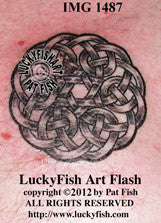 Principle of Faith Celtic Tattoo Design 1