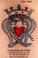 Dedication Luckenbooth Scottish Tattoo Design 1
