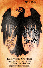 Weimar Eagle Tattoo Design 1