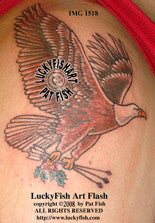 Victory Eagle Tattoo Design
