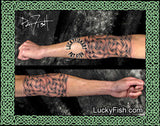 Elbow Armor Celtic Tattoo Design 3