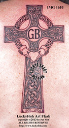 Killarney Cross Celtic Tattoo Design 1
