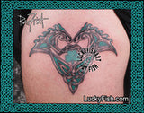 Lucky Stallions Celtic Tattoo Design 2