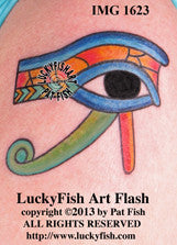 Egyptian Eye Tattoo Design 1