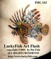 Lionfish Tattoo Design 1
