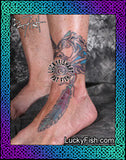 Horse Feathers Celtic Tattoo Design 2