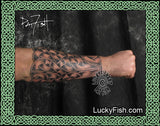 Archer's Bracer Celtic Warrior Tattoo Design