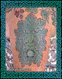 Woodwose Man Pagan Tattoo Design 2
