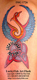 Memory Phoenix Celtic Tattoo Design 1