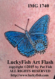 Artemis Butterfly Tattoo Design 1