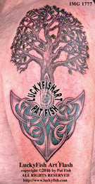 Valley Oak Tree Of Life Tattoo Design 1